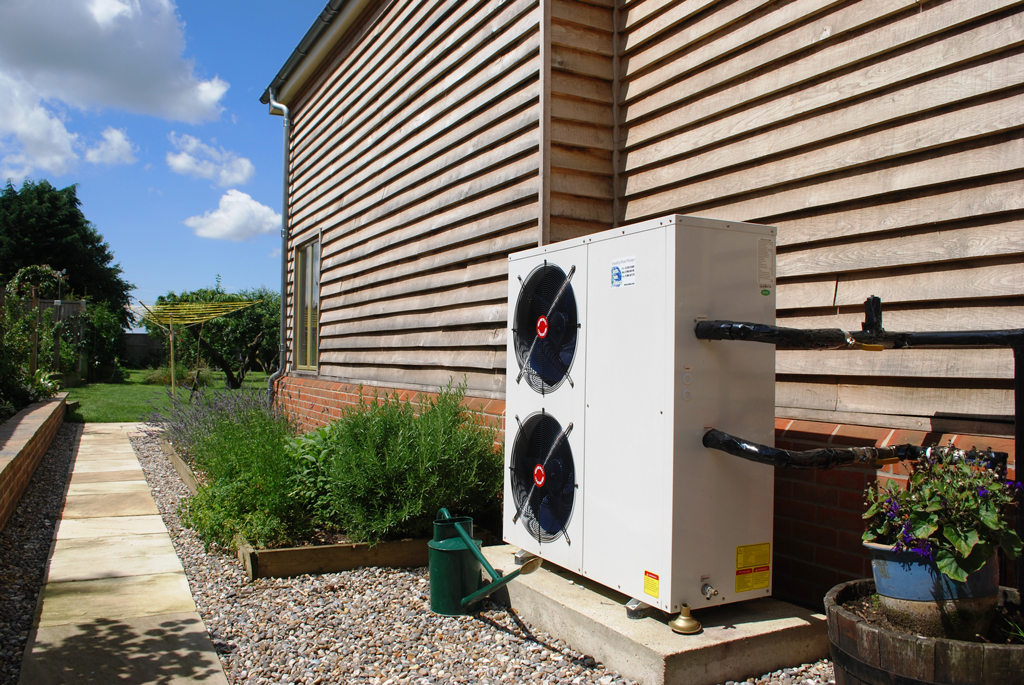 Clinker House Timber Clad Air Conditioning