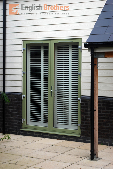 Elmer House Timber Clad French Doors