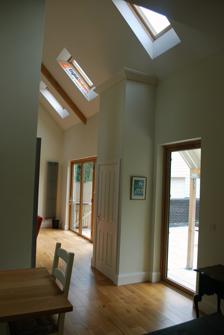 Elmer House Timber Clad Inside