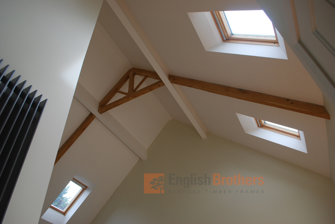 Elmer House Timber Clad Roof Space