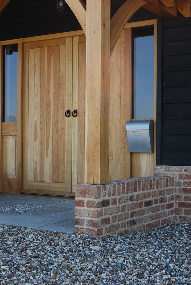 Pond House Timber Clad Post and Beamd House Timber Clad Post and Beam