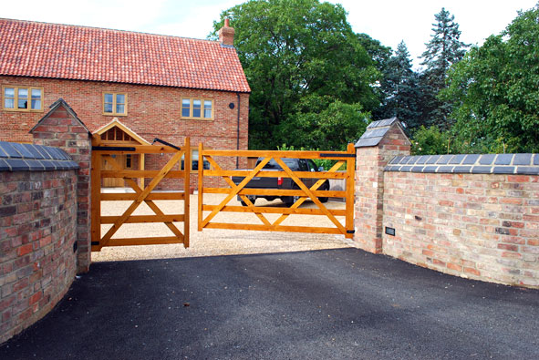English Brothers Entrance Gates Joinery