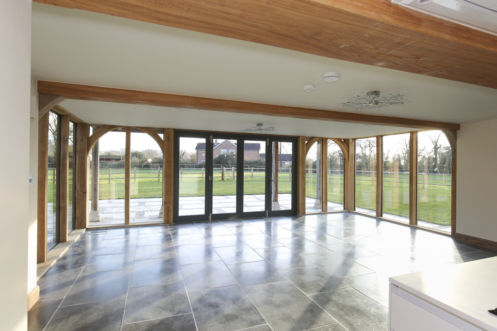Frogditch Farm Oak Hybrid Home Sun Room