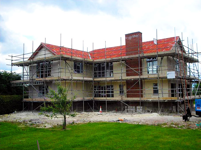 Russell House Hemp Eco Build
